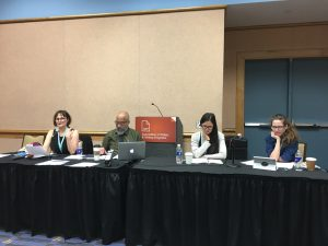 Alison Meyers, Cecil Giscombe, Jen Hyde, Stephanie Gray_Publishing the Disabled Voice CLMP AWP