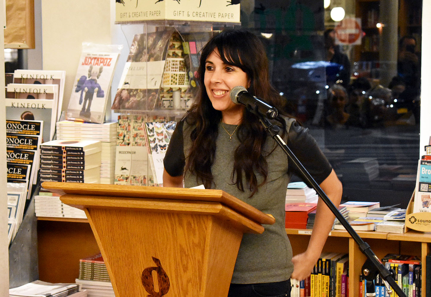 Youmna Chlala reads from her book <i>The Paper Camera</i> (Litmus Press)