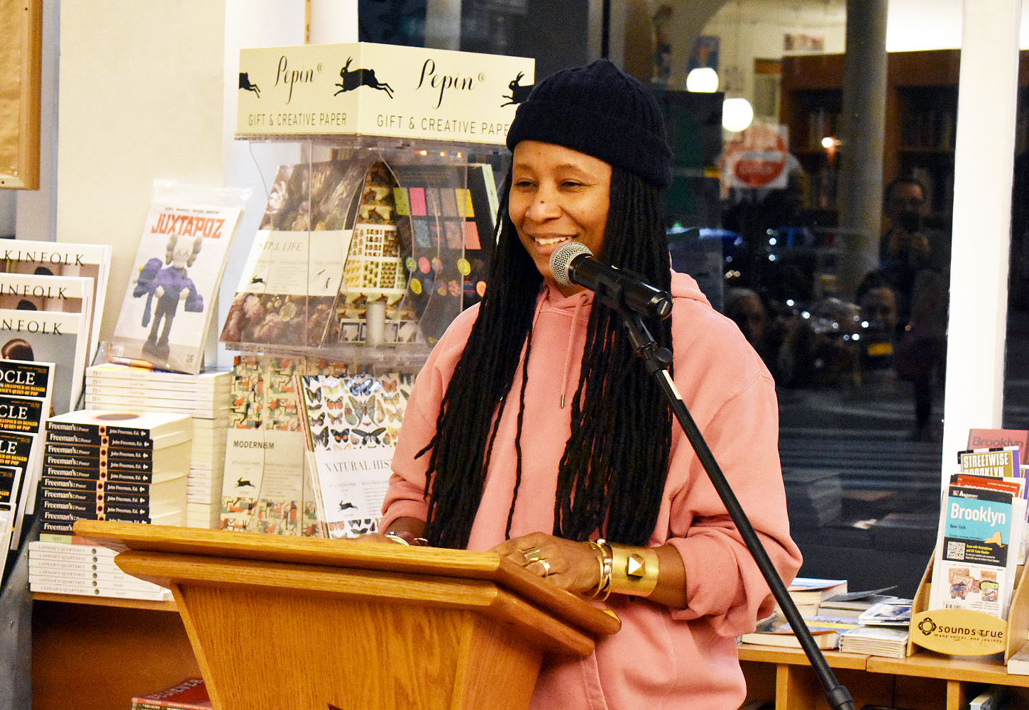 t'ai freedom ford reads from <i>& more black</i> (Augury Books)