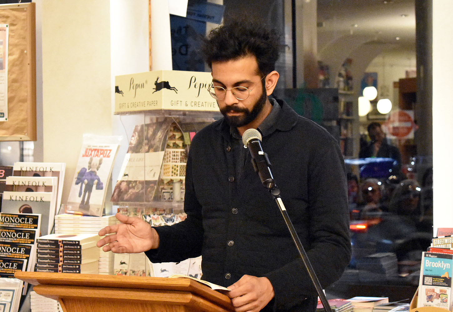 Shiv Kotecha reads from <i>The Switch</i> (Wonder)