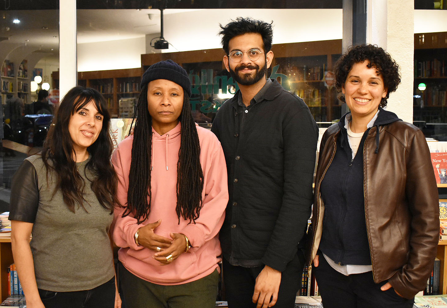 Face Out 2018 Emerging Writers: Youmna Chlala, T'ai Freedom Ford, Shiv Kotecha, and Zahra Patterson