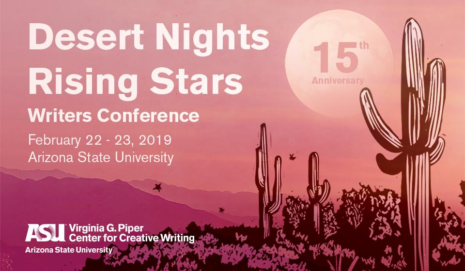 Desert Nights Rising Stars publishing conference Arizona State University CLMP Members